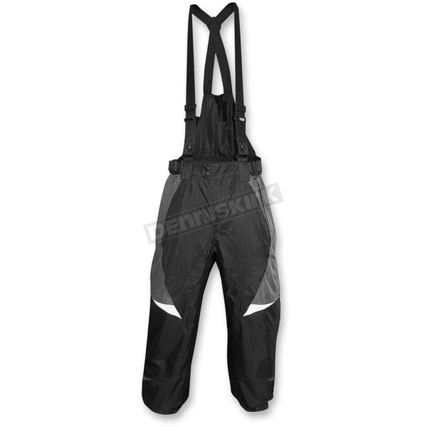 R.U. Outside Black/Gray Vortex Wind/Waterproof Pants - PANT-SM-VSTRM