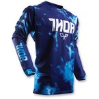 Youth Blue Pulse Air Tydy Jersey  - 2912-1391