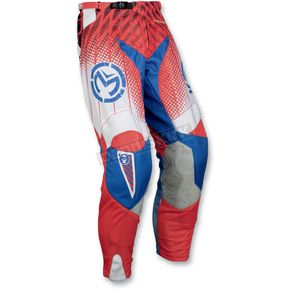 Moose Red/White/Blue Sahara Pants - 29014343