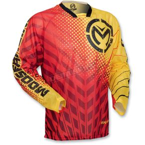Moose Red/Yellow Sahara Jersey - 29103048