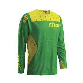 Thor Kelly Green/Yellow Core Contro Jersey - 2910-3434