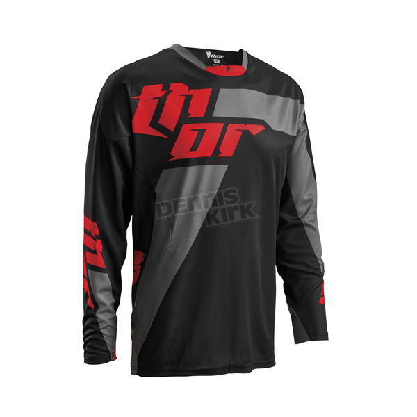 Thor Black/Red Core Merge Jersey - 2910-3449
