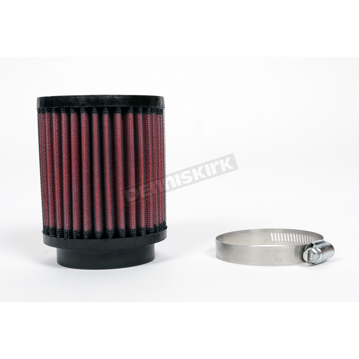 Snowmobile Air Filters : K n universal round straight clamp on air filter