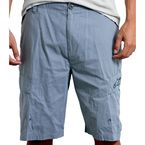 Gray Hexagon Shorts - 1010-2300312-28