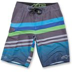 Blue Guff Boardshorts - 1013-240097228