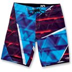 Blue HD2 Apocalypse Boardshorts - 1013-240017228