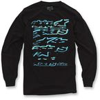 Black Knock Out Long Sleeve Shirt - 10327106210S
