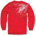 Red Desert Sled Long Sleeve Shirt - 10327106530S