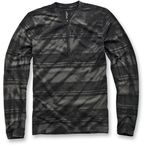 Black Hitter Long Sleeve Shirt - 103244000102X