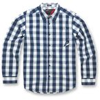 Navy Caption Long Sleeve Shirt - 10343100770L