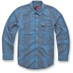 Blue Detour Long Sleeve Shirt - 10343100272M