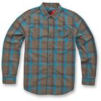 Military Green Monza Long Sleeve Shirt - 1034310046902X