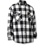 Checkered Flannel Shirt - TT604F80BWMR
