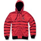Red Vernon Zip Hoody - 1013-5300530S