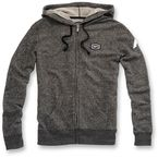 Womens Heather Gray Bryant Zip Hoody - 29001-190-13