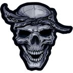 Bandana Skull Embroidered Patch - LT30124