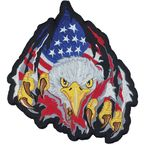 Rip Tear Eagle Embroidered Patch - LT30003