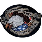 Freedom Eagle Embroidered Patch - LT30094
