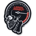 Speedometer Skull Embroidered Patch - MN32068