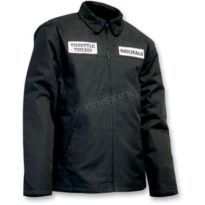 Throttle Threads Originals Shop Jacket - TT417J28BK2R