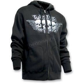 Throttle Threads Triple Threat Hoody - TT419F51BK2R