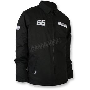 Throttle Threads Black Team Snow Jacket  - TT433J28BKLR