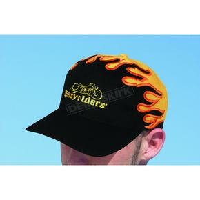 Easyriders Roadware Text Black/Orange Hat - 300400