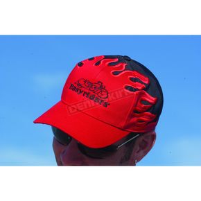 Easyriders Roadware Text Black/Red Hat - 300402