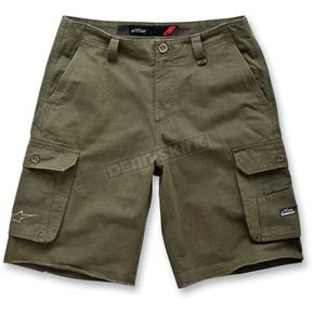 Alpinestars Army Green Reverb Cargo Shorts - 1013-230346934