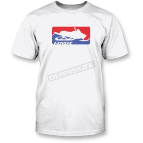 HMK White Official T-Shirt - HM2SSTOFFWL