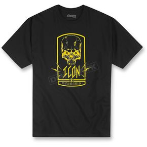 Icon Black Crosseyed T-Shirt - 3030-11059