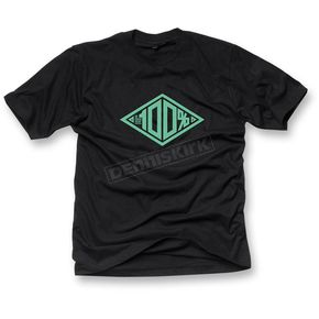 100% Black Built T-Shirt - 32020-001-10