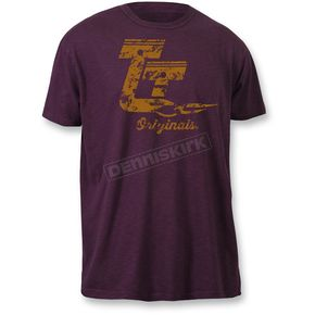 Throttle Threads Eggplant Originals T-Shirt - TT608S108HEMR