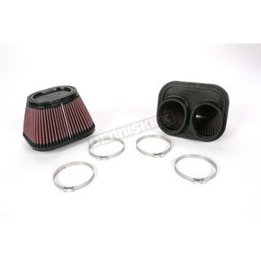K & N Oval-Type Custom Clamp-On Air Filter Kit - RU-2952