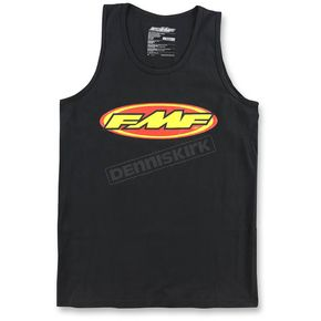 FMF Men's Black The Don Tank - F251S23102BLK2X