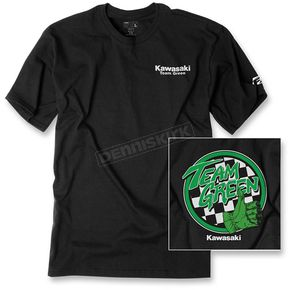 Factory Effex Black Team Kawasaki Premium T-Shirt - 19-87118