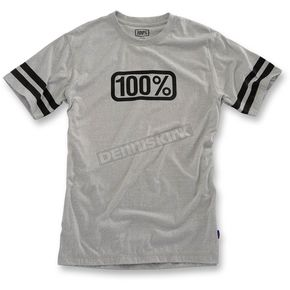 100% Heather Gray Legacy T-Shirt  - 32049-188-13