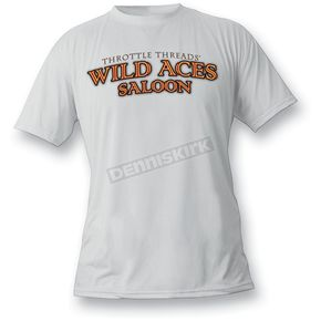 Throttle Threads Wild Aces T-Shirt - TT41T23ESXR