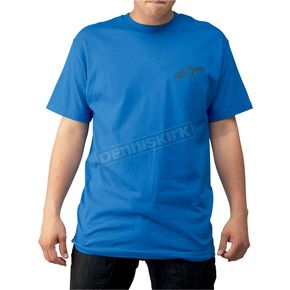 Alpinestars Blue Massive T-Shirt - 103972020-79-S