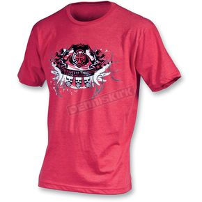 Throttle Threads Regal Deluxe T-Shirt - TT309T70RDLRA