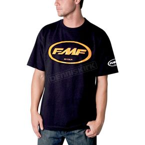FMF Black/Orange Classic Don T-Shirt - F211S18103ORL