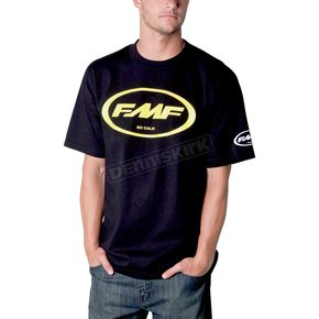 FMF Black/Yellow Classic Don T-Shirt - F211S18103YLL