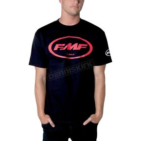 FMF Black/Red Classic Don T-Shirt - F211S18103RDL