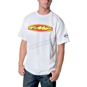 FMF White The Don T-Shirt - F211S18109WTM