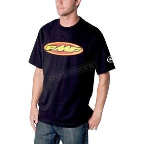 FMF Black The Don T-Shirt - F211S18109BKXXL