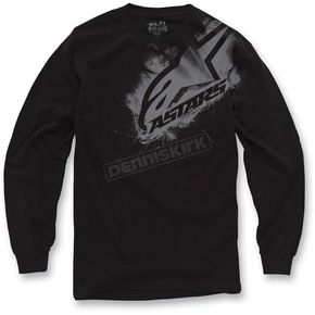 Alpinestars Black Primer Long Sleeve Shirt - 10327106410L