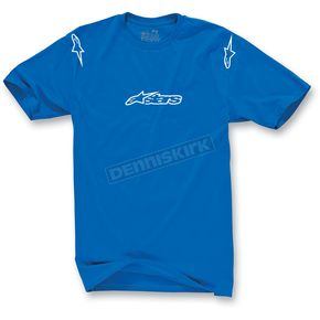 Alpinestars Royal Blue Drivers Seat T-Shirt - 10327203479L