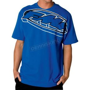 FMF Royal Blue Go Big T-Shirt - F221S18001RBL