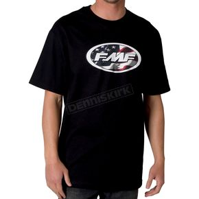 FMF Black Republic T-shirt - F221S18010BKM