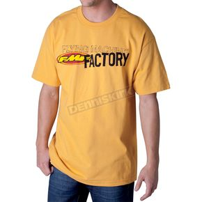 FMF Mustard High Flying T-Shirt - F421S18103YELL